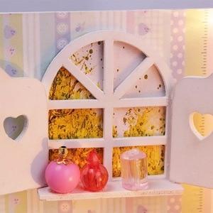 Image 5 - 1個diy笑ベッドと家具チェアベッドテーブル本棚窓ピアノなど家のおもちゃオリジナル笑
