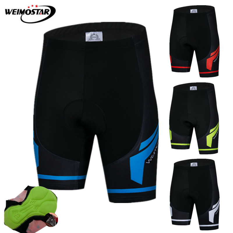 Weimostar Pro Team Coolmax Cycling Shorts Men Shockproof MTB Bike Shorts 3D Gel Padded Downhill Tight Bicycle Shorts bermuda