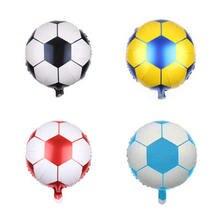 лот 18 дюймов Фольга мультфильм Футбол мяч шары Дети лучше игрушки Баскетбол 9b1c16787c4cc