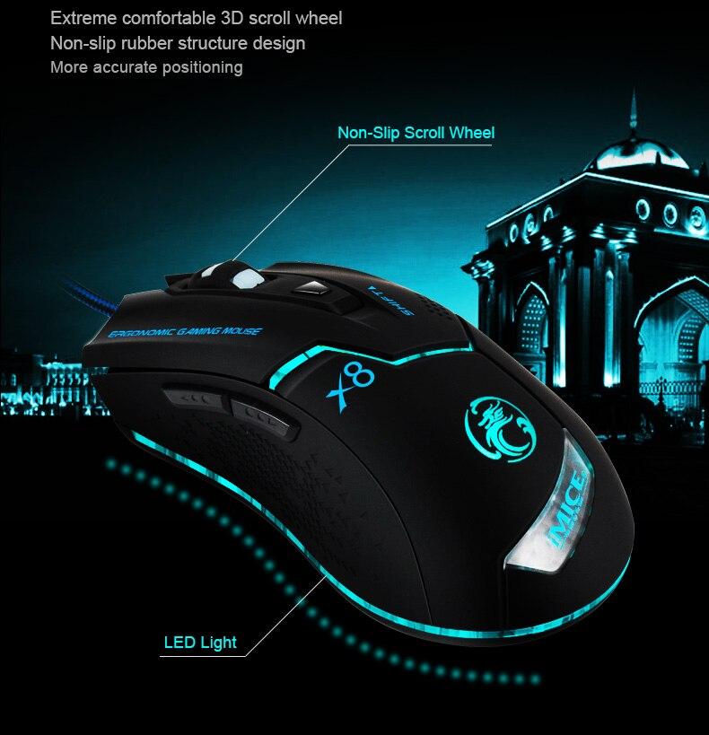 Imice Wired Gaming mouse Professional Gaming Mouse Imice Wired Gaming mouse Professional Gaming Mouse HTB1ejwmQFXXXXc0XXXXq6xXFXXXZ