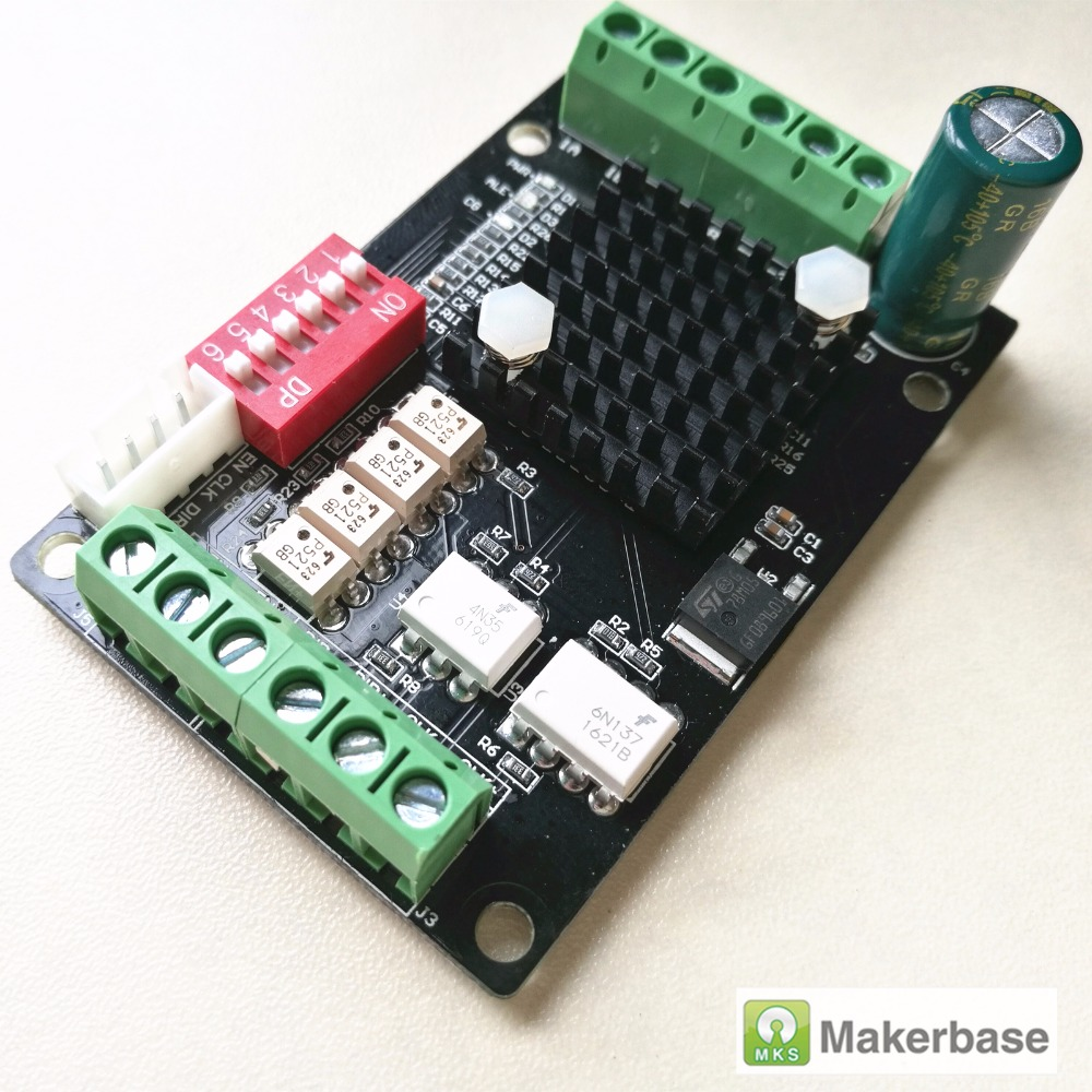 MKS-LV8729-OC ultra quiet stepper driver 1.5A CNC stepping driver for high current motor drive controller 3d printing module