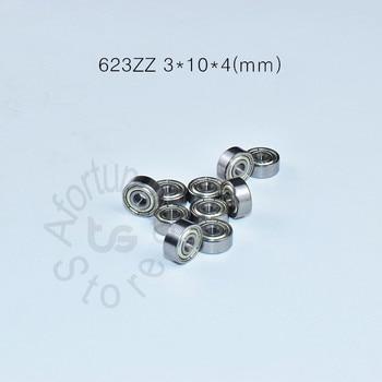 623 623Z 623ZZ 3*10*4(mm) 10pieces  bearing ABEC-5 Chrome steel bearings 10pcs metal Sealed Miniature Mini Bearing free shipping r3zz bearing 4 763 12 7 4 98 mm abec 5 bearings metal sealed miniature bearing 3 16 x 1 2 x 0 196 inch r3 r3z r3zz