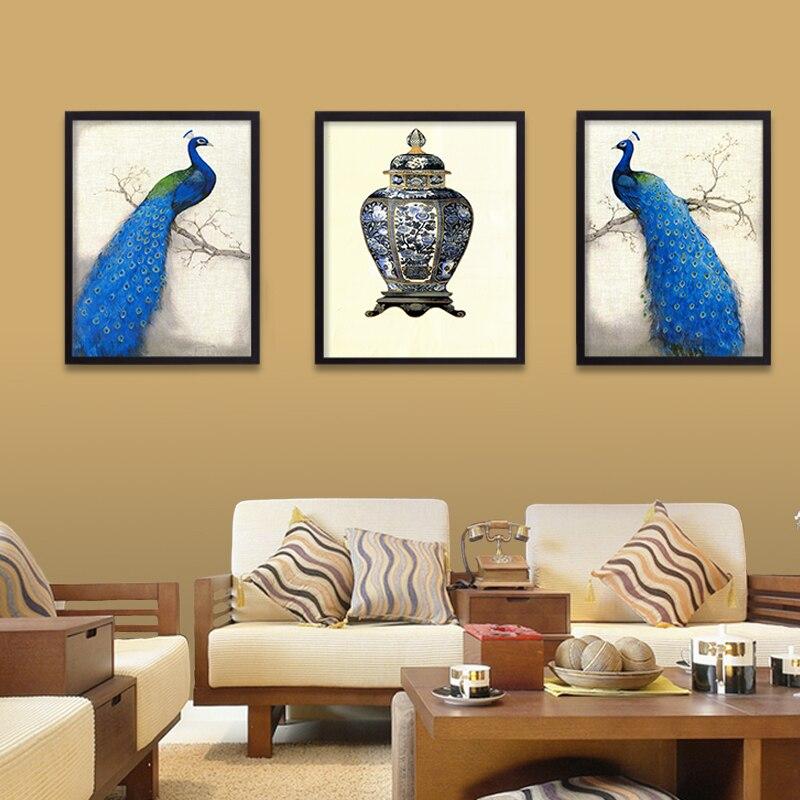 Weihnachten mode pfau dekorative malerei moderne wohnzimmer wand ...