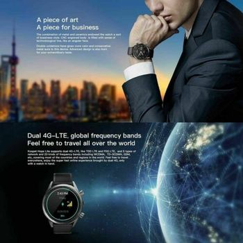 Business Men High-end 4G Smart Watch 1.39 inch For Android 7.1 Long standby SIM Card Dial Call Heart Rate Tracker Camera Watches