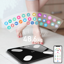 Smart Home Bathroom Scales LED Screen Body Grease Electronic
