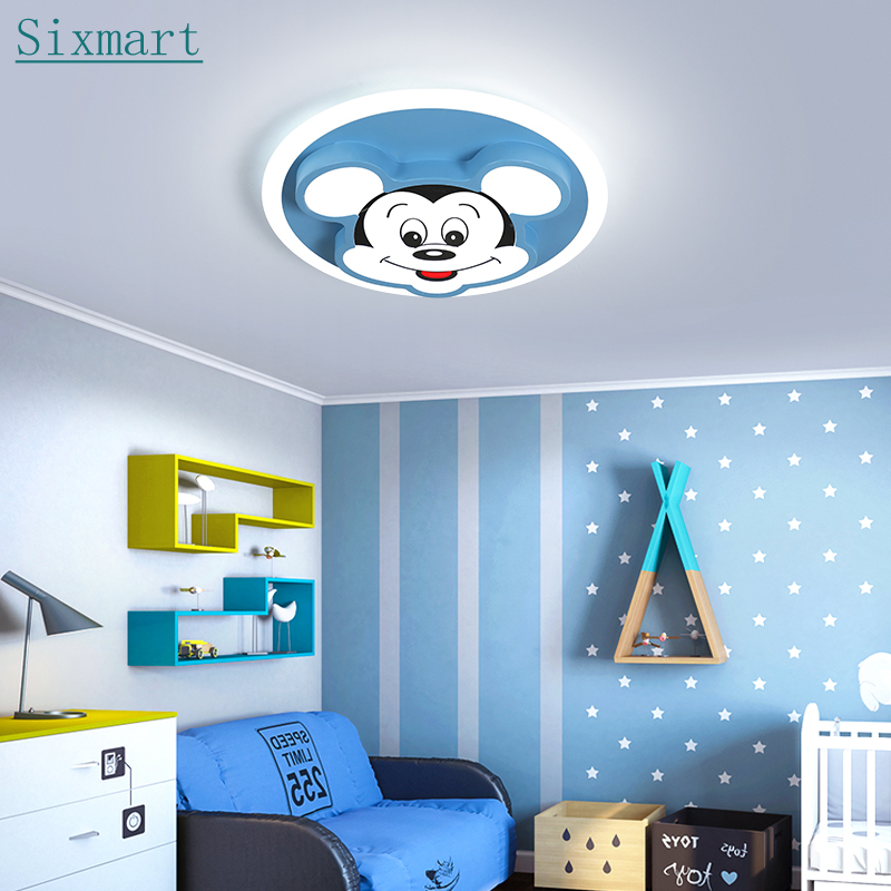 LED Mädchen Decken Leuchte Kinder Zimmer RGB Farbwechsel Behang Lampe dimmbar