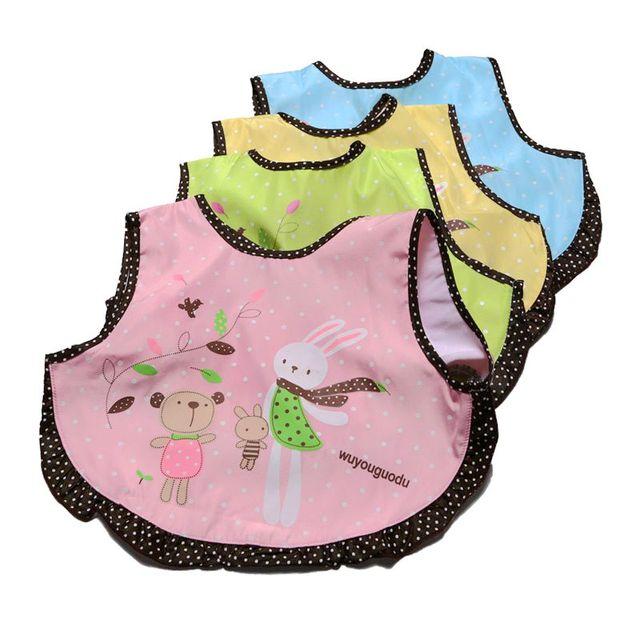 2018New Baby Bibs Boys Girls Cartoon Burp Cloths Cute Breathable Waterproof Newborn Bandanas Feeding Wear Infant Saliva Towel