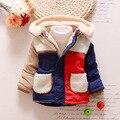 18-36months Inverno Snowsuit Bebê Recém-nascido de Algodão Casacos E Jaquetas de Meninas Quentes Do Bebê Crianças Menino Casacos Outerwear Roupas