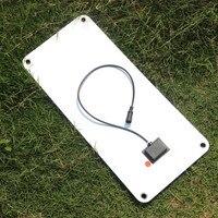 20W Solar Panel 12V to 5V Battery Charger USB for Car Boat Caravan Power Supply QJS Shop