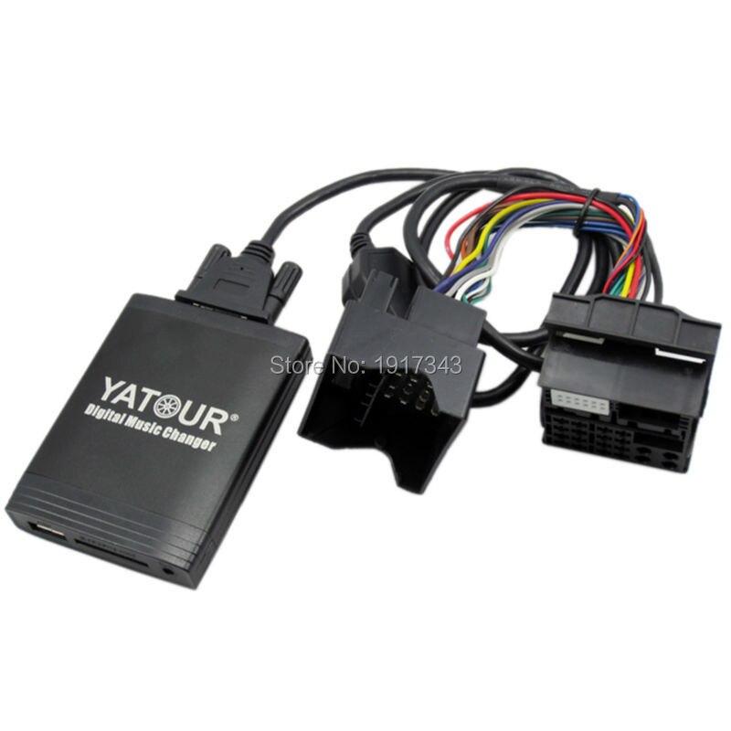 Yatour YT M06 автомобильный аудио для RD3 Peugeot Citroen RB2 RM2 MP3 плеер Bluetooth Радио адаптер цифровой музыкальный чейнджер - 5