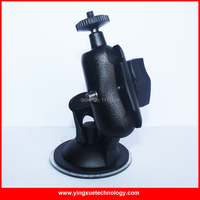 Car Suction Cup Mount Holder With 6 CM Double Socket Arm For DVR Camera