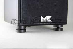 Image 5 - 4 çift abanoz hoparlör amplifikatör şok sivri ses amortisör HiFi Bağlar Amplifikatör 5ft Dia. 23 MM