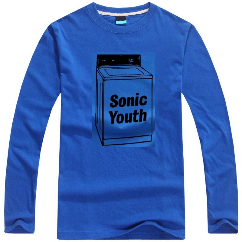 f933ed14 Sonic Youth punk band t shirt long sleeve men's casual t shirt washing  machine design rock style tee shirt-in T-Shirts from Men's Clothing on  Aliexpress.com ...