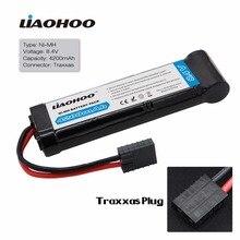 Liaohoo 8.4 В 4200 мАч 7-ячейки плоский пакет NiMH Батарея с Traxxas разряда разъем для дистанционного управления racing автомобили RC гоночный автомобиль Игрушечные лошадки