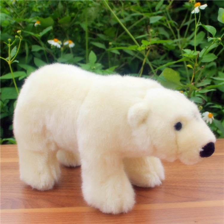 Standing Polar Bear Doll Toy Children Education Toys Plush Animals Gifts For Girls