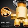 Vagsure 1Set Hot and Cold Water Copper Massage Bathtub Faucet Bathroom Shower Cabin Faucet Mixer Shower Room Mixing Valve Tap promo