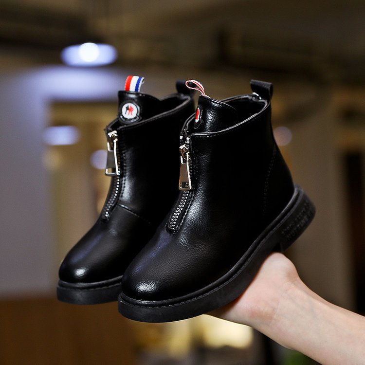 Children's Martin Boots Unisex Kids Ankle Boots For Girls Genuine Leather For Boys Shoes Fashion Chelsea Boots Unlimited Season