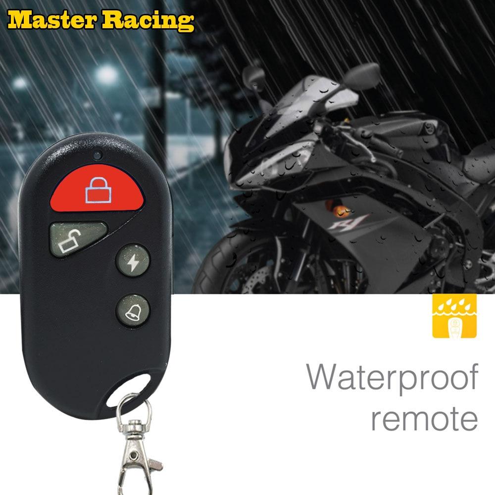 Motorcycle Scooter Security Alarm System Motorbike Bike Immobiliser Remote Control Engine Start For Yamaha Honda Suzuki Moto