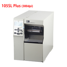 Zebra 105sl plus industrial adhesive sticker printer 300DPI Base Model Keep working 24 hours