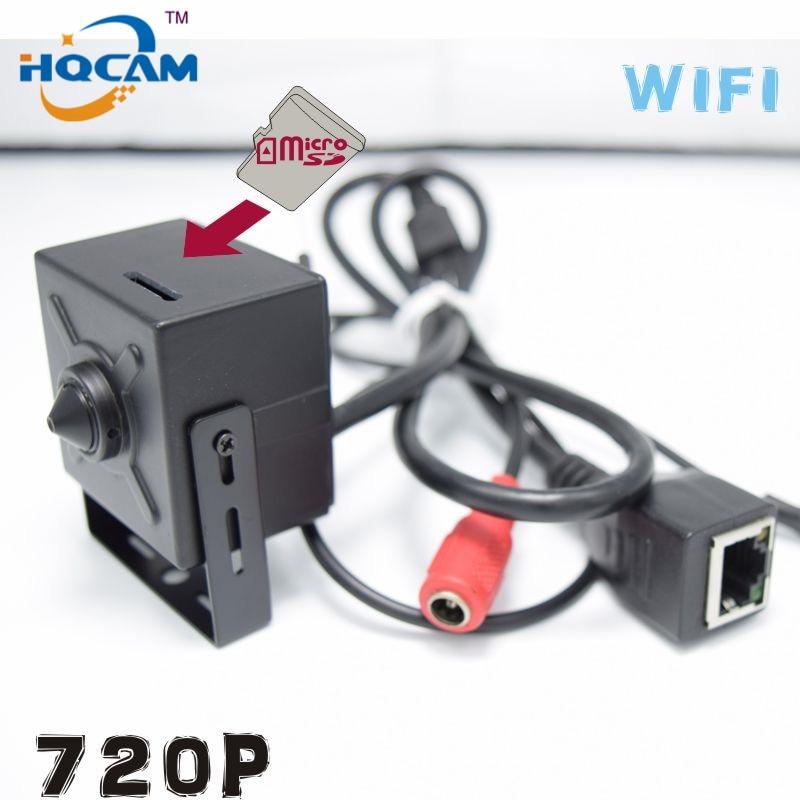 HQCAM 720P mini IP Camera Wireless Wifi Camera Indoor Onvif Support TF SD card Mini Wireless IP cam Micro TF Card Surveillance