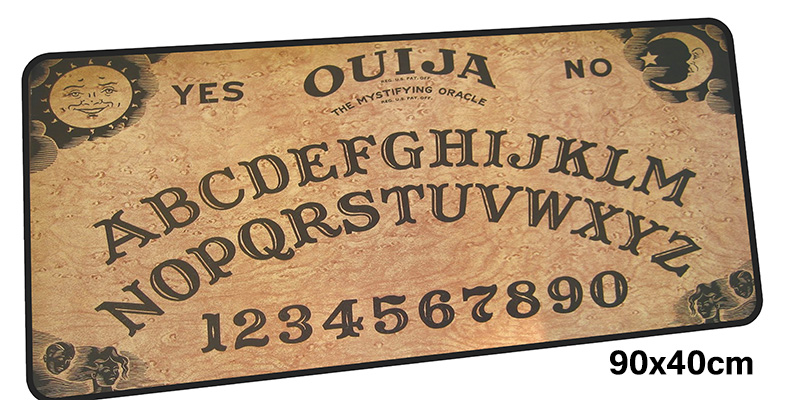 ouija board mousepad gamer 900x400X3MM gaming mouse pad large Colourful notebook pc accessories laptop padmouse ergonomic mat