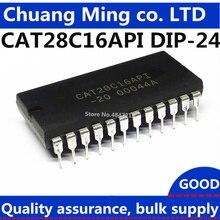 67eaca0f43d9 Free Shipping 10pcs lot CAT28C16API-20 CAT28C16API-90 KM28C16 28C16  CAT28C16AP-20