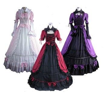 8a8286c44 Medieval gótico victoriano de Georgia vestido victoriano gótico vestido  recreación teatro vestidos