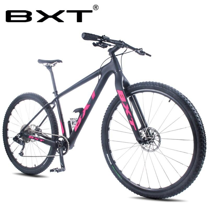 Ultraléger full carbon montagne vélo à double disque de frein 1*11 vitesse 29er montagne vélo T800 cadre en fiber de carbone vélo livraison s
