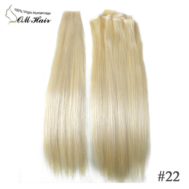 Top Quality Hair Extension Hand Tied Skin Weft No Shedding Tape Hair