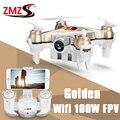 Mini Drone UFO Cheerson CX-10W-TX Altura Conjunto 2.4 GHz 4CH Dron Helicóptero de Controle Remoto Com 100 W Câmera RC Quadrocopter FPV