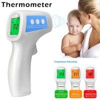 Бесконтактный термометр цифровой детские Инфракрасный связующий температура лихорадки программное средство имени якоря моря Чайки