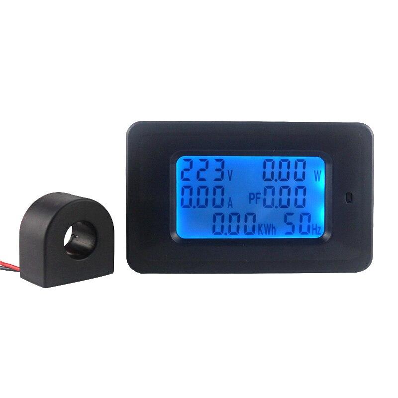 AC 22KW 110 220 v Digital Voltmeter Amperemeter 100A Strom Spannung Meter Power Energie Ampere Volt wattmeter tester detektor