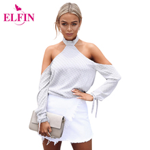 Womens Sexy Long Dress 2017 New Style Halter-Neck Women Tops Camis Strapless Backless With Lace-Up Detail Shirt LJ8885R