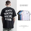 FORGIVENESS 2017 Men's ASSC anti social social club Men Short  T Shirt