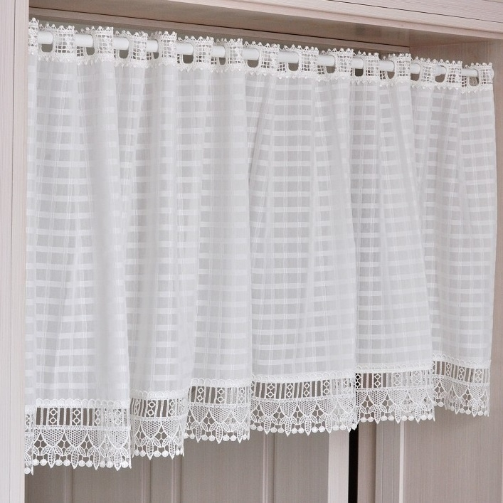 Aliexpress.com : Buy White Window Short Curtains French