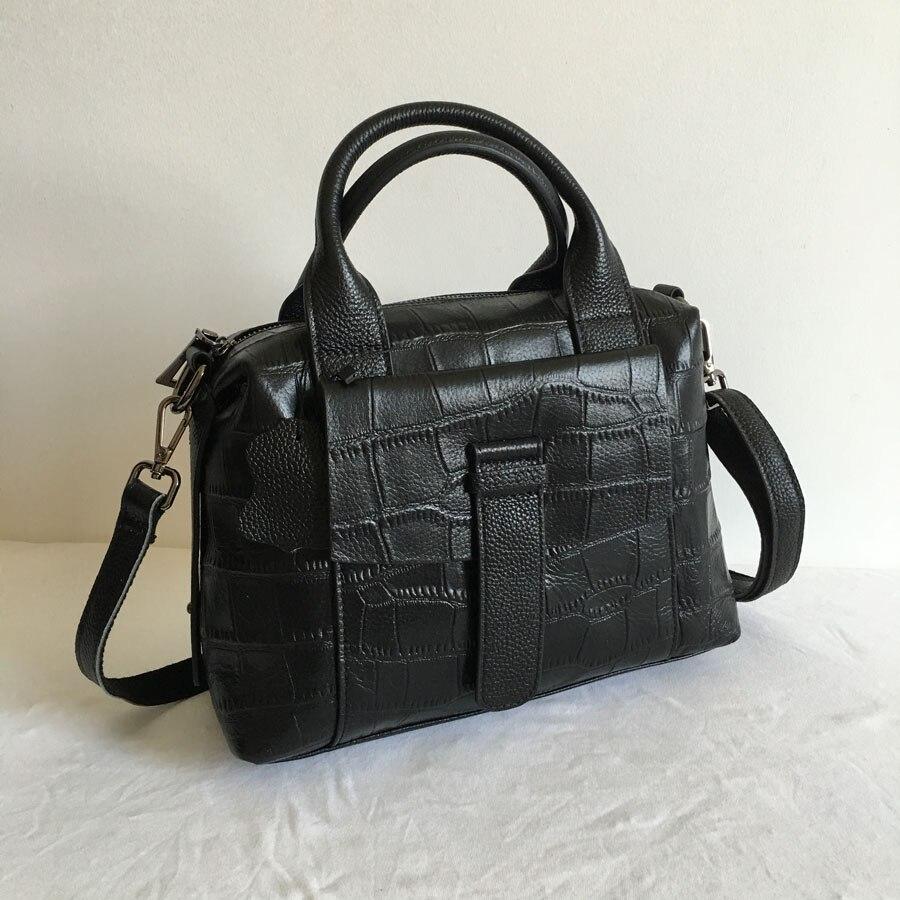 High Quality Famous Brand Women Leather Handbags Crocodile Pattern Leather Mochilas Soft Leather Lady Purse Bolsos