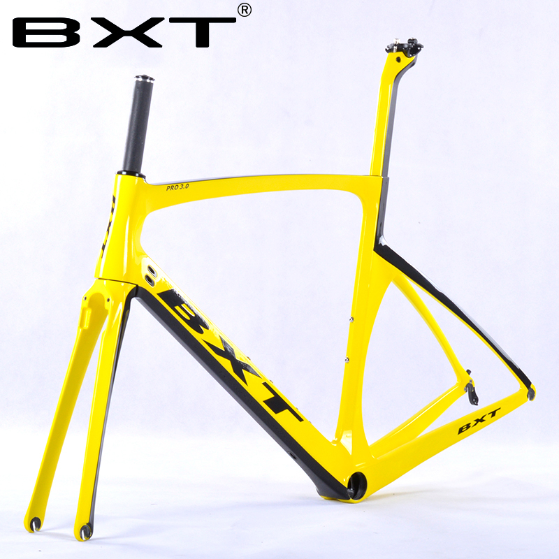BXT2016 brand Chinese carbon frames super light Aero Design carbon road frame BSA/PF30 racing bike bicycle frame 25c wheel Free 2018 carbon fiber road bike frames black matt clear coat china racing carbon bicycle frame cycling frameset bsa bb68