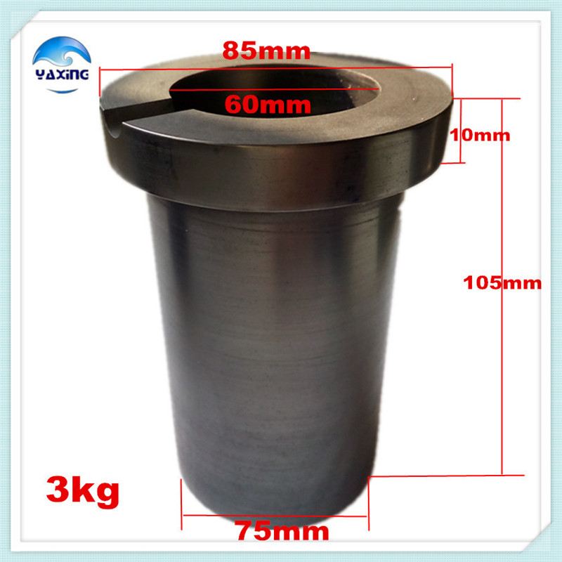graphite crucible for melting metal high purity graphite crucible 3kg 3kg keer graphite melting crucible high pure graphite crucible for melting gold and silver machine