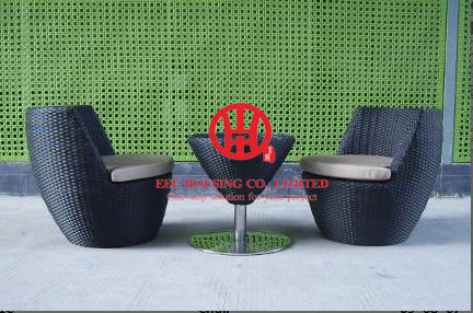 Us 2295 0 Wicker Rattan Furniture Garden Round Dining Table And Chair Set For 10 Persons Antique Design Hollow In Doors