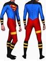Envío Gratis Full Body Lycra Spandex Juego de La Piel Catsuit Party Superboy Zentai de Halloween