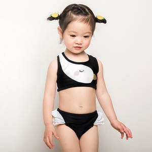 efde033a10 Two Pieces Swimwear Striped Bathing Suit for Children Beach Bikini Set