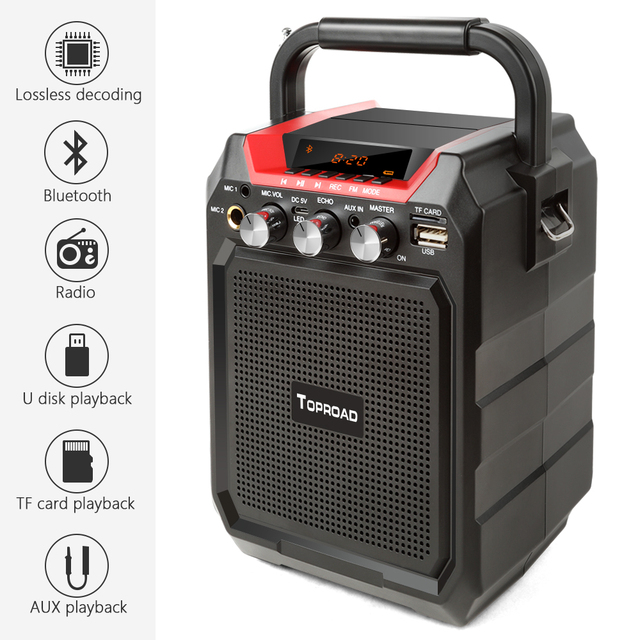 Bluetooth Speaker with Remote Control 2