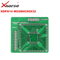 XHORSE XDPG14CH MC68HC05X32 QFP64 V1 0 Adapter Working Together With VVDI PROG