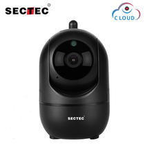 Sectec HD 1080P Cloud Wireless Wifi Camera Intelligent Auto Tracking Of Human Home Security Surveillance CCTV Network IP Camera