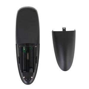 Image 5 - G10 2.4G صوت ماوس هوائي 6 محور جيروسكوب يطير ماوس إضافة IR وظيفة التعلم العمل مع صندوق أندرويد TV PK Wechip W1 ل X96 mini