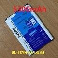BL-53YH 5300 мАч Аккумулятор Для LG G3 D858 D855 D857 D859 D850 F400 F460 F470 D830 D851 VS985