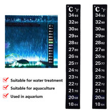 Aquarium Aquarium réservoir thermomètre température autocollant numérique double échelle Stick-on Durable 1 PC(China)