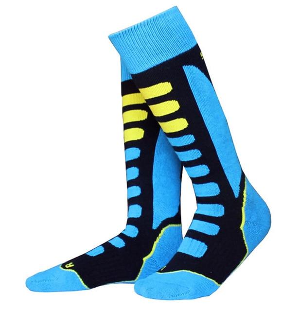 Thicken Winter Snow Skating Ski Socks Stocking Leg Protection Warm Sports For Kids Girls Boy Children