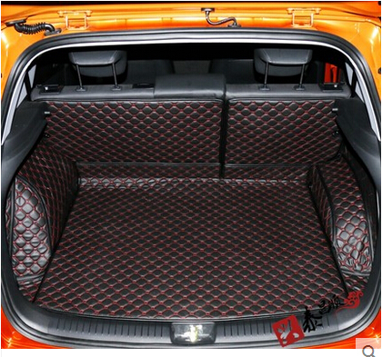 High quality & Free shipping! Special trunk mats for Hyundai ix25 2016 Easy to clean waterproof boot carpets for ix25 2015