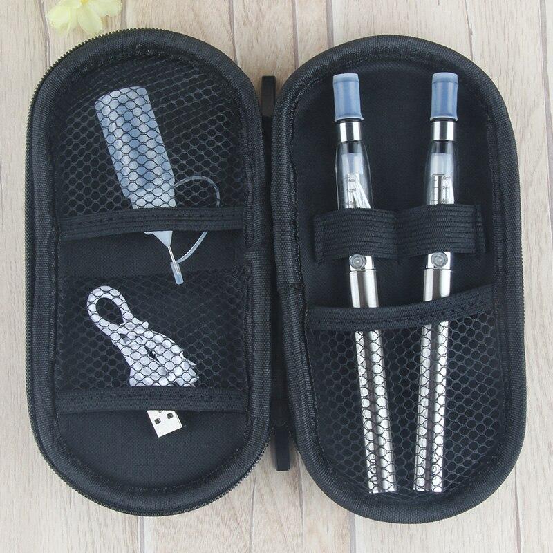 UGO-T Doppia sigaretta elettronica starter kit ugo-t batteria 1100 mah 1.6 ml ce4 atomizzatore e cigarette vs ego ce4 zipper vaporizzatore